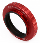 48mm T mount for Pentax K -Red