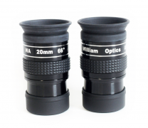 PAIR of 66 degree- 20mm eyepieces