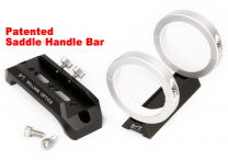 New 120mm Saddle Handle Bar (Patented) with All New 50mm Guiding Rings