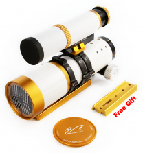 (Special Edition)WO Star 71 II APO Refractor (Innovative Bahtinov Mask Cover (Patented) & guiding Scope included)