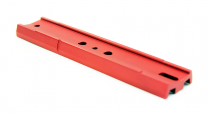 Vixen-Style 8 inch Dovetail Plate – Red