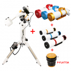 WO-EQ35 Equatorial Mount & A-Z73II Package (P-FLAT73A & Guider Scope Included)